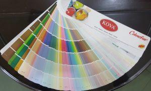 Bảng màu sơn Kova
