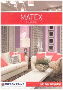 Bảng màu sơn Maxtex và Supper Maxtex