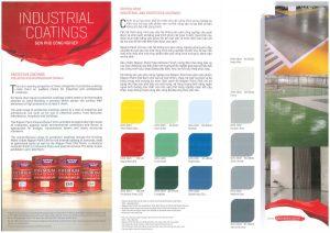 Bảng màu sơn phủ công nghiệp Nippon