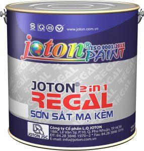 Sơn sắt mạ kẽm Joton Regal 2 in 1