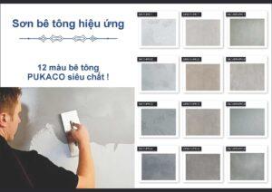 Báo giá thi công sơn giả bê tông